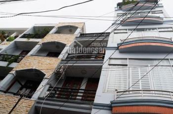 Nhà 1 trệt 4 lầu hẻm xe hơi gần ngã 3 Lê Văn Thọ - Quang Trung, DT 4x8m NH 4,1m, giá 4,43 tỷ TL