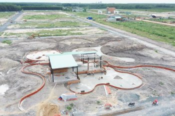 Bán đất nền thổ cư, có sổ hồng riêng, 100m2/TT 379tr tại KĐT Phúc Hưng Golden