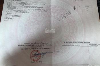 Bán đất trục chính Lai Sơn, Đồng Tâm, Vĩnh Yên, DT 136m2. LH 0974056212
