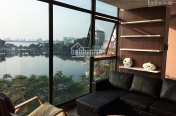 Bán nhà mặt hồ phố Quảng An, mặt hồ Tây, DT: 170m2 x 4 tầng, giá 92 tỷ