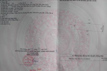 Bán đất nền thổ cư 100% KP5, TT Vĩnh Bình, 144m2, đường 3m, giá 450tr