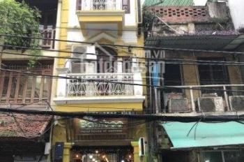 Cho thuê nhà 5 tầng x 100m2 trung tâm phố Hàng Nón, Hoàn Kiếm, Hà Nội