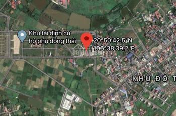 Bán đất TĐC Bạch Mai, Đồng Thái, An Dương, giá 1 tỷ 150tr