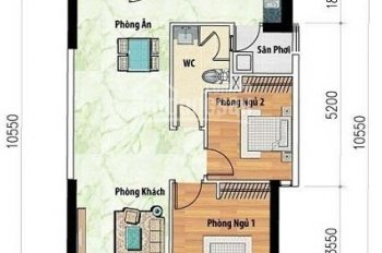 Siêu rẻ! Mùa dịch duy nhất 1 căn 73m2 đầy đủ nội thất, lầu cao view đẹp cho thuê nhanh 9,5 tr/th
