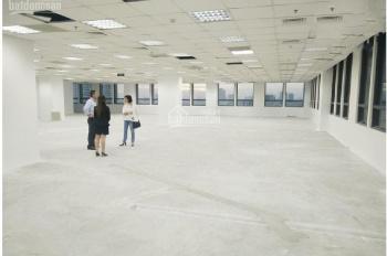 BQL tòa nhà cho thuê sàn VP 160m2 phố Yên Lãng view kính đẹp ô tô đỗ cửa giá thuê 42 tr/ tháng