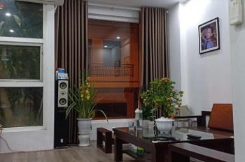 CHo thuê nhà phân lô 4 tầng x 50m2, đầy đủ tiện nghi, làm văn phòng + ở, cạnh bến xe Yên Nghĩa