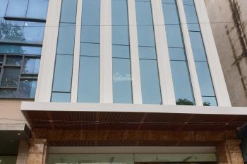 Cho thuê nhà mặt phố Nguyễn Ngọc Nại, Thanh Xuân, Hà Nội DT 140m2, 8 nổi 1 hầm thông sàn, thang máy
