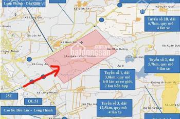 Cầu VĐ 3 Đang thi Công Đất nền ngay TTHC Nhơn Trạch giá chỉ từ 7tr/m LH:0966113779