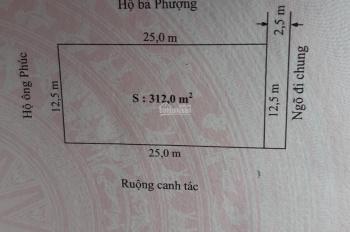 Bán 312m đất tại Văn Phong, Đồng Thái.