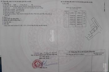 Bán lô góc 2 mặt tiền hẻm 83 Đào Tông Nguyên, xây dựng tự do, DT 4,5x15m giá 3,4 tỷ thương lượng