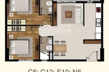 Cần cho thuê căn hộ Sài Gòn Mia,Diện tích: 72m2, 2PN, đủ nội thất: 16tr/tháng