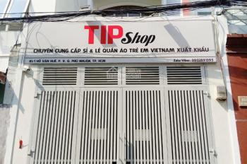 Cho thuê mặt bằng 81/1 Hồ Văn Huê, Phú Nhuận, 4x25m, VP công ty, studio, shop, spa về đây