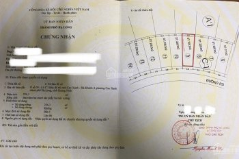 Bán 2 lô đất liền nhau KĐT Cao Xanh, Hạ Long. DT 226.3m2/lô, giá rẻ, LH 0964563329