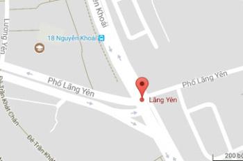 Bán nhà mặt phố Lãng Yên, quận Hai Bà Trưng, Hà Nội, Mặt tiền 5m giá 14 tỷ. LH 098 9064 384