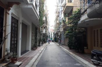 Bán nhà phân lô phố Văn Cao, ô tô tránh vỉa hè, 60m2, 5 tầng, giá 10.5 tỷ