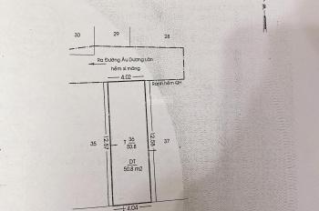 Nhà 4 lầu hẻm 4m Âu Dương Lân, P.2