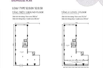 Cần bán căn shophouse S2.0.30 2tầng mặt tiền 16,5m giá tốt đầu tư tại khu Diamond PLus Celadon City