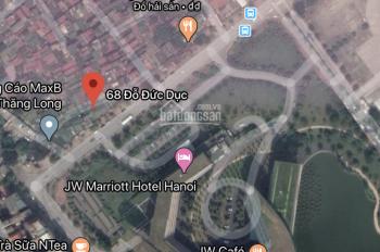 Bán đất đường Đỗ Đức Dục, giá tốt liên hệ 0972115668