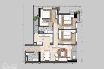 Bán gấp căn hộ 3PN toà CT3 bằng giá CĐT, 102m2, 3,099 tỷ: 0988851895
