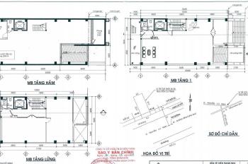 Cho thuê tòa building trên 1500m2, mặt tiền Nguyễn Cư Trinh Q1 - 8.5x20m - hầm 10 tầng