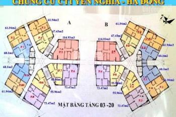 Đạt 0962.43l. 768 Bán gấp 2 CC CT1 Yên Nghĩa A - 1506(130.75m2) & B - 1206(73.47m2) giá 12.5tr/m2