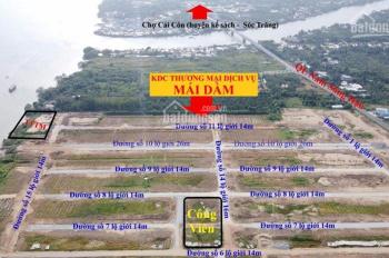 Bán nền huyện Châu Thành, đất thổ cư giá chỉ 600tr