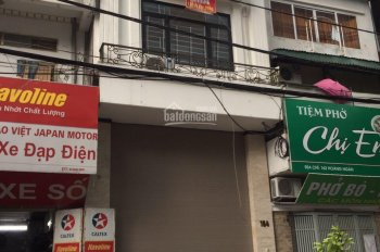 Cho thuê nhà MP Trần Khát Chân khu vực trung tâm, DT 100m2 x 4 tầng, MT 6m