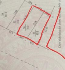 Bán đất hồ Tân Xã 130m2 giá 27tr/m2