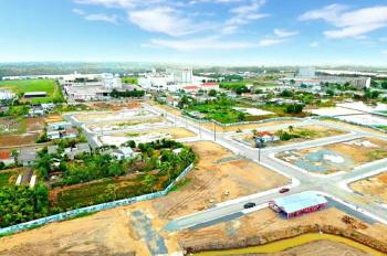 Bán lô góc KDC Tây Nam Center đường Nguyễn Trung Trực,Bến Lức,Diện tích 166m2,giá 850 Tr