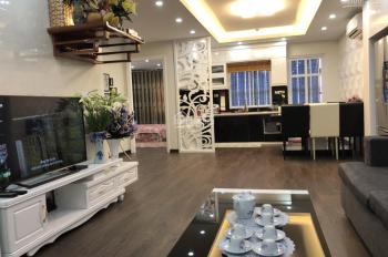Cho thuê căn hộ 80m2 full đồ, tại chung cư CT1 Thạch Bàn, Long Biên giá 11tr/th - 098.660.3136