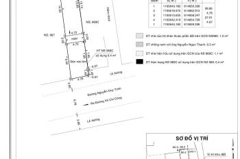 Bán nhà mặt tiền đường Nguyễn Duy Trinh, 126,8m2, phường Phú Hữu, Quận 9, LH 093898341 Thuận