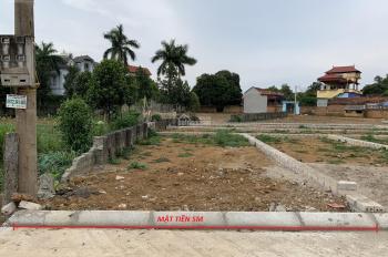 Bán lô đất mặt đường trung tâm xã Bình Yên, 76.6m2 full thổ cư, sổ sẵn gần CNC, FPT, Vinsmart