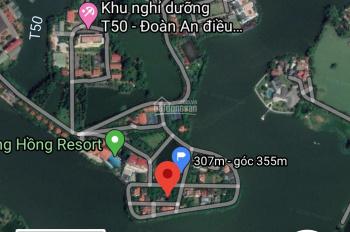 Bán 393m đất biệt thự khu sông hồng resort khu VIP nhất Vĩnh Phúc hiện nay dành cho các V.I.P