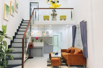 Bán Nhà giá chỉ 2,25 tỷ, trệt lửng DTSD 6x20m, 3 phòng ngủ, Hẻm 1206 Huỳnh Tấn Phát, Quận 7