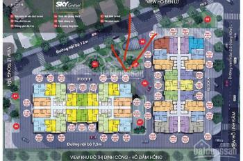 Chị gái cần tiền bán gấp căn hộ 10B1 - 92,52m2 - tầng trung - 2,7 tỷ - Sky Central. 0985.085.747