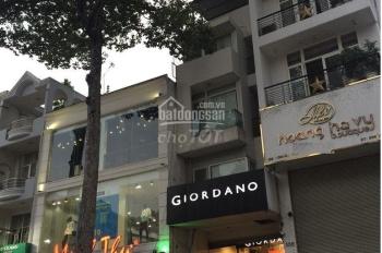 Nhà mặt tiền đường Nguyễn Thị Minh Khai, P5, Q3, 8x10m, 4 lầu, giá 35tr/tháng