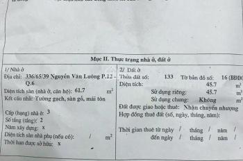 Nhà hẻm 336/65/39 Nguyễn Văn Luông