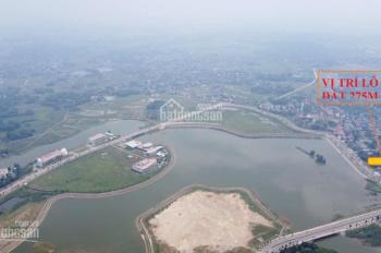 Bán đất mặt hồ tân xã, đất view hồ Tân Xã- hồ công nghệ cao Hòa Lạc-Thạch Thất-Hà Nội