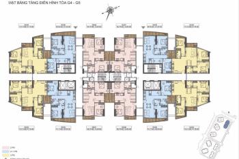 Chỉ còn duy nhất căn hộ 1,4x Tỷ diện tích 50m2 - Thiết kế 2 ngủ - Nhận nhà cuối năm 2020