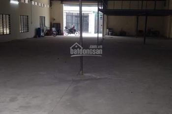 Cho thuê nhà xưởng hẻm 6m đường Phan Văn Hớn, phường Tân Thới Nhất, quận 12 DT 389m2, giá 25tr/ th