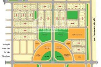 Dịch ngộp hàng đất khu đô thị Bàu Xéo, sổ đỏ thổ cư 100%, sổ đỏ trao tay, LH: 0904 799 089(Thúy)