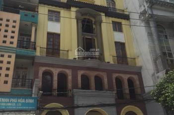 Nhà mặt tiền Nguyễn Cửu Vân, 1 hầm 7 tầng nổi, giá cho thuê 180 triệu/tháng
