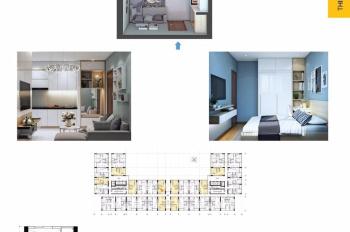 Bán gấp căn 1 phòng ngủ tầng 5 dự án Bcons Miền Đông giá tốt - 0931111788