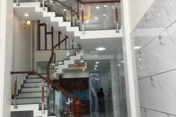 Cần bán căn nhà mới xây mặt tiền QL50, P. 5, Q. 8, TP. HCM, DT: 4x16m, 1 trệt, 3 lầu, giá: 7,5 tỷ