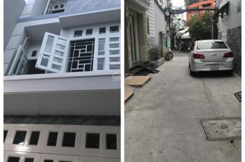 Bán nhà mới đẹp, rộng mà còn rẻ Tân Trang, phường 9, Tân Bình; 61m2 (4x15m) nở hậu; giá 7.8 tỷ