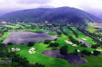 Bán lô biệt thự sân golf Tam Đảo Vĩnh Phúc, view sân golf, mặt tiền 55m, giá chỉ 14tr/m2