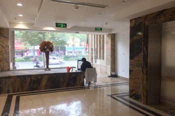 Cho thuê nhà mặt phố Hòa Mã: Diện tích 100m2 x 7 tầng, MT 7m, thông sàn, thang máy, vị trí đẹp