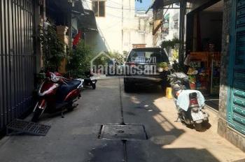 Bán nhà hẻm 358 Bình Long, P Phú Thọ Hòa, Q TP. DT 4mx16m vuông vức, 1 lầu giả kiên cố, giá 5,5tỷ