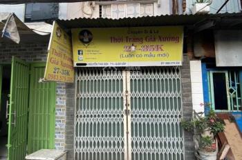 Bán nhà 2 tỷ 5, hẻm xe tải thông, Nguyễn Thái Sơn - Dương Quán Hàm - ĐH Văn Lang, P5, Gò Vấp
