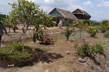 Lô đất 1 sẹc Phạm Thái Bường, đường oto 5m, mặt sông lớn 30m thích hợp làm nhà vườn đầu tư sinh lợi